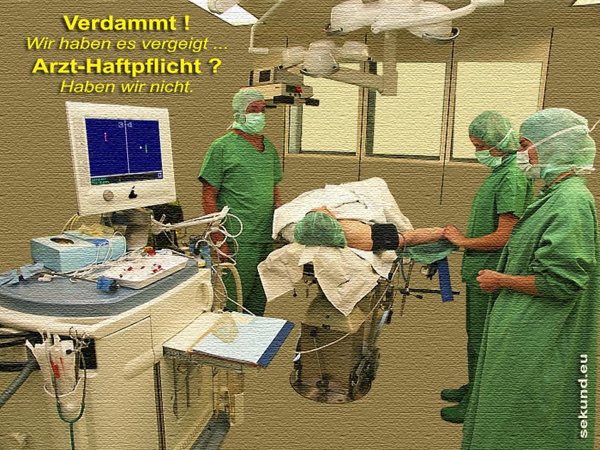 SEKUND Arzt Haftpflicht - Nein Danke - Potsdam Fahrland, Berlin, Brandenburg Deutschland