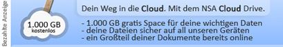 NSA-Cloud-Drive - SEKUND - Potsdam Fahrland, Berlin, Brandenburg Deutschland